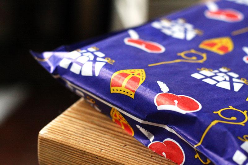 Sinterklaas wrapping paper