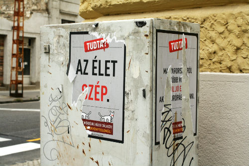 Political satire is alive and well in Hungary.