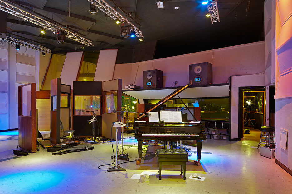 Studio A at EastWest with their 9' Bechstein D-280