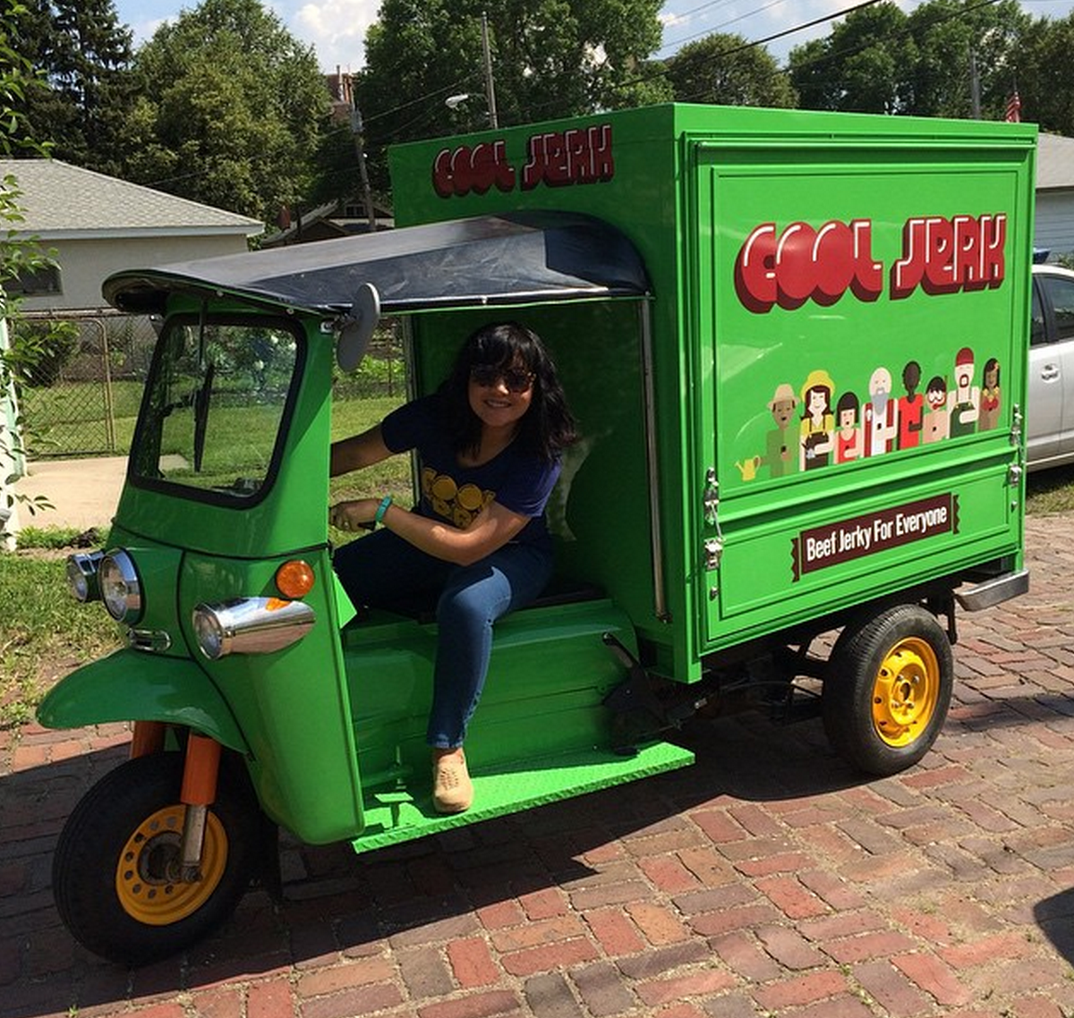 Cool Jerk's official tuk-tuk from Thailand - photo via @Mike2600 instagram