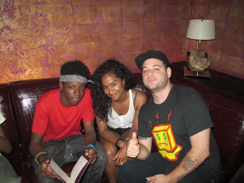 Joey, Vashtie and Jonny - via Vashtie's site