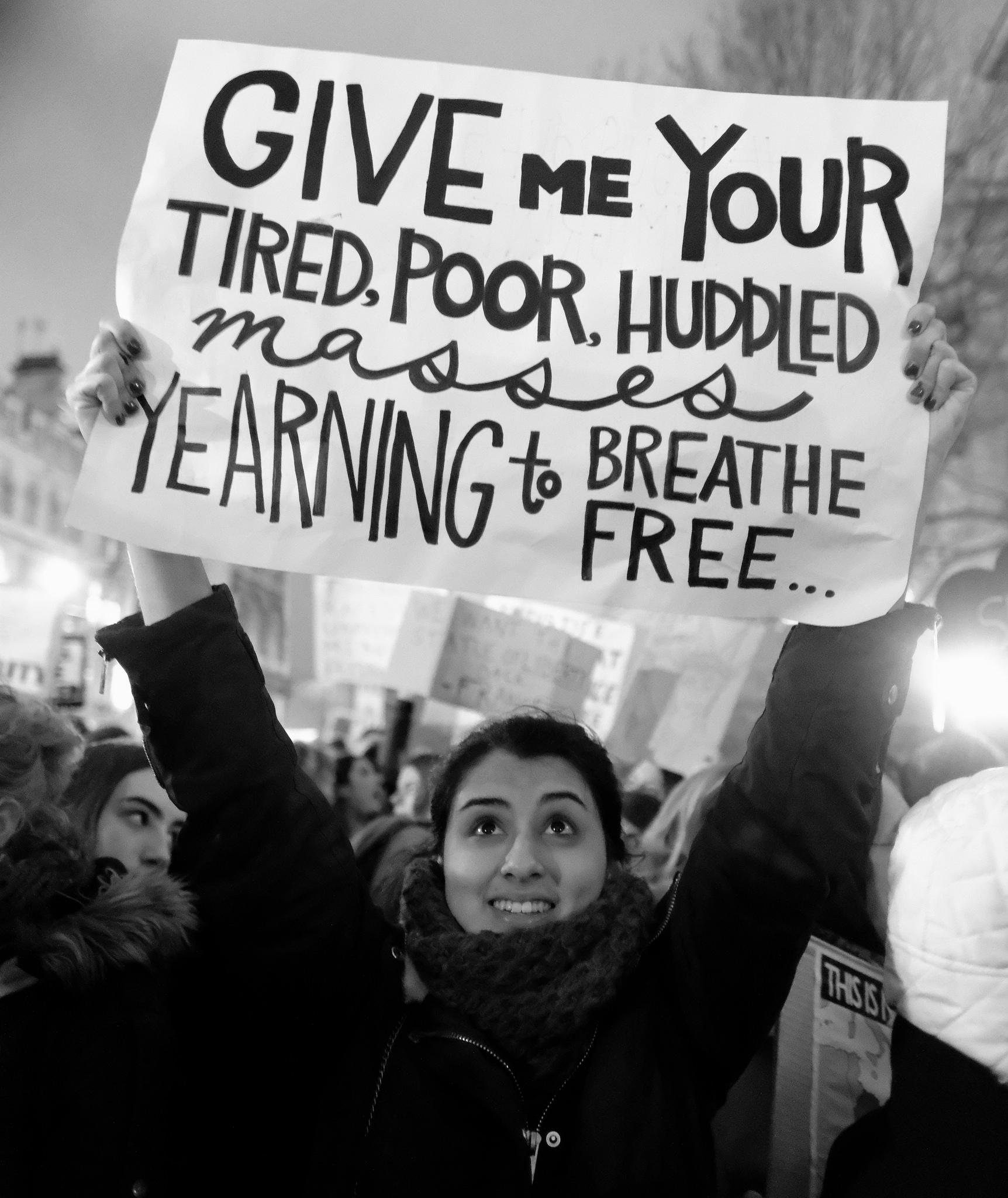 Protest in London  via Flickr  by Alisdare Hickson