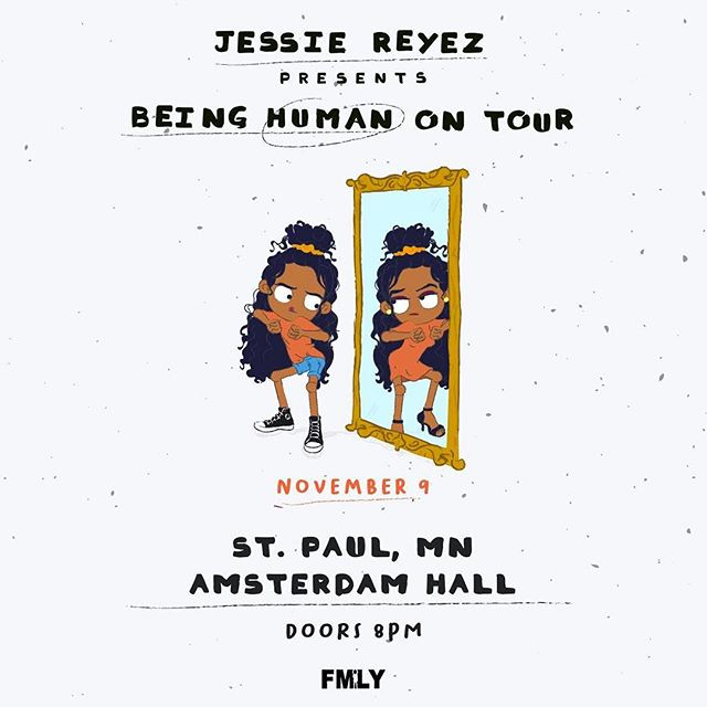 ✨ @jessiereyez ✨  November 9th  @amsterdambar651  Tickets on sale this Friday!
