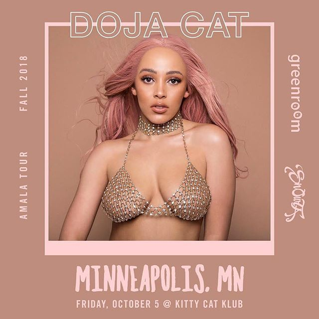 🚨A N O T H E R  O N E 🚨 @dojacat at @kittycatklubmpls - October 5. Tickets on sale now! 🗣🐄✨💃🏽