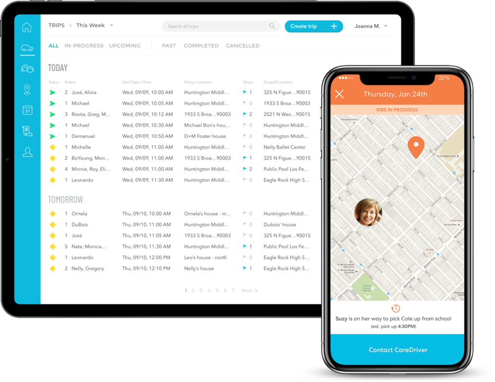 Purpose-built Technology - Real-time visibility. Intuitive trip scheduling. All without picking up a phone. We know the complexity and stresses of coordinating student transportation. HopSkipDrive simplifies it so you can breathe easier.Show me how it works
