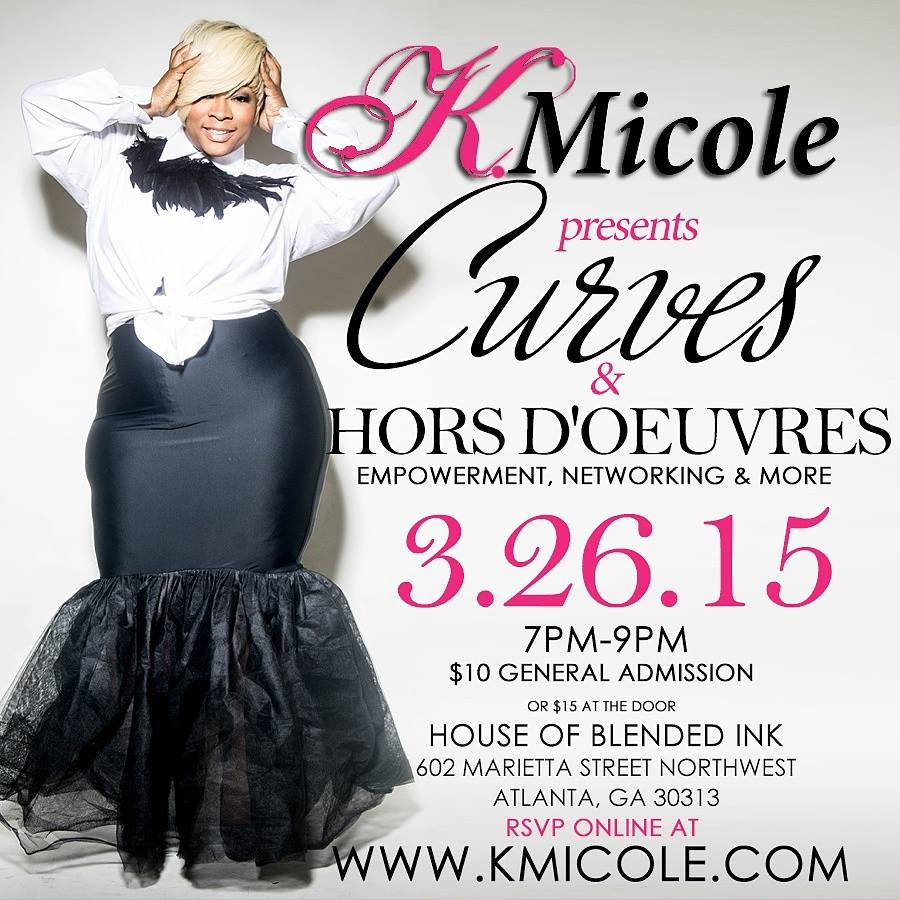 K Micole presents Curves and Hors d`euvres - Curves and the city