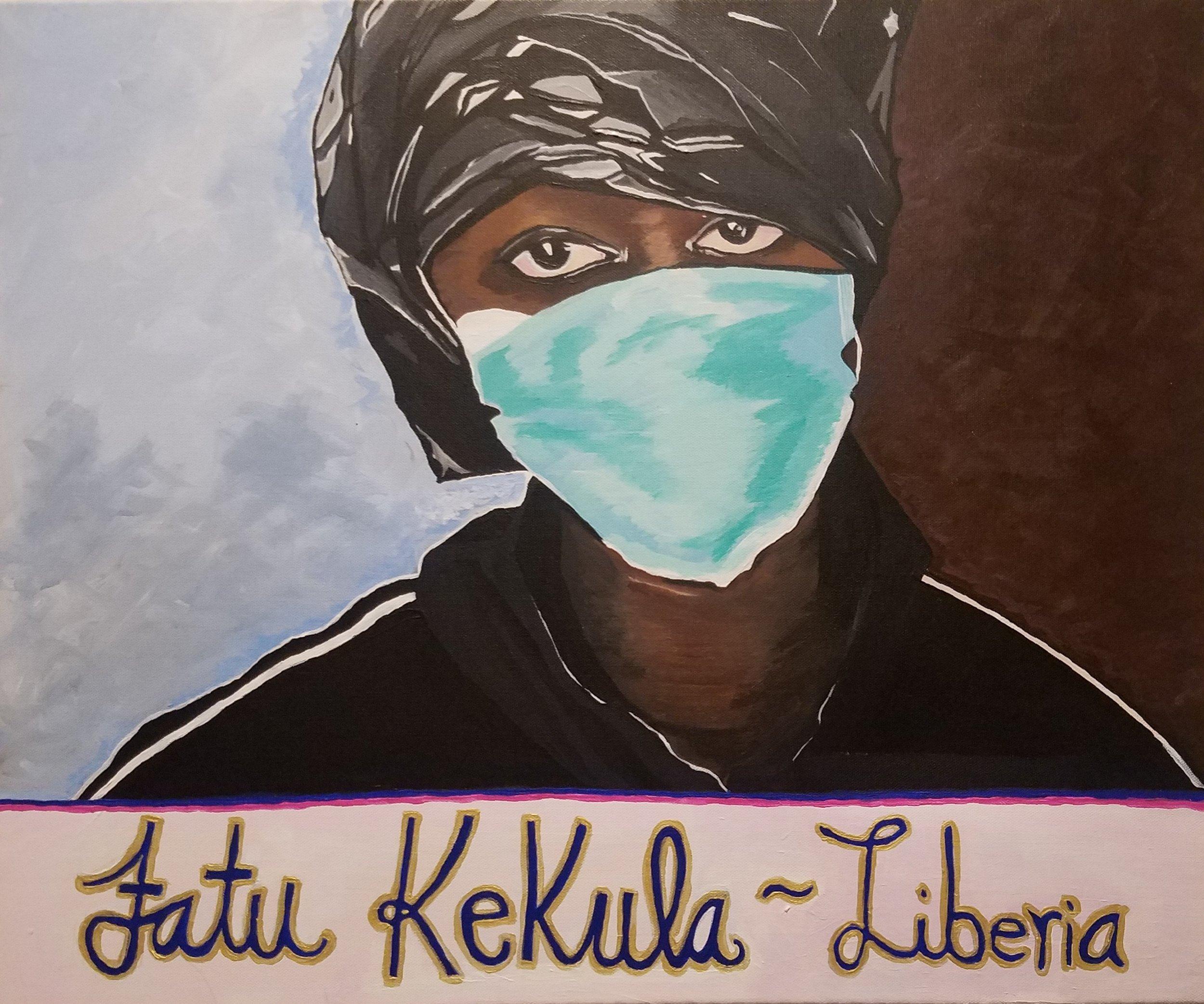 Fatu Kekula: Liberia  by Adriana Garriga-Lopez.  Fall 2017 Intima