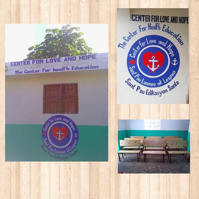 In the words of a traditional Haiti proverb Piti piti zwazo fè nich li. . . Little by little the bird builds its nest.  Our building is almost ready to open. Stay tuned for exciting program updates!
