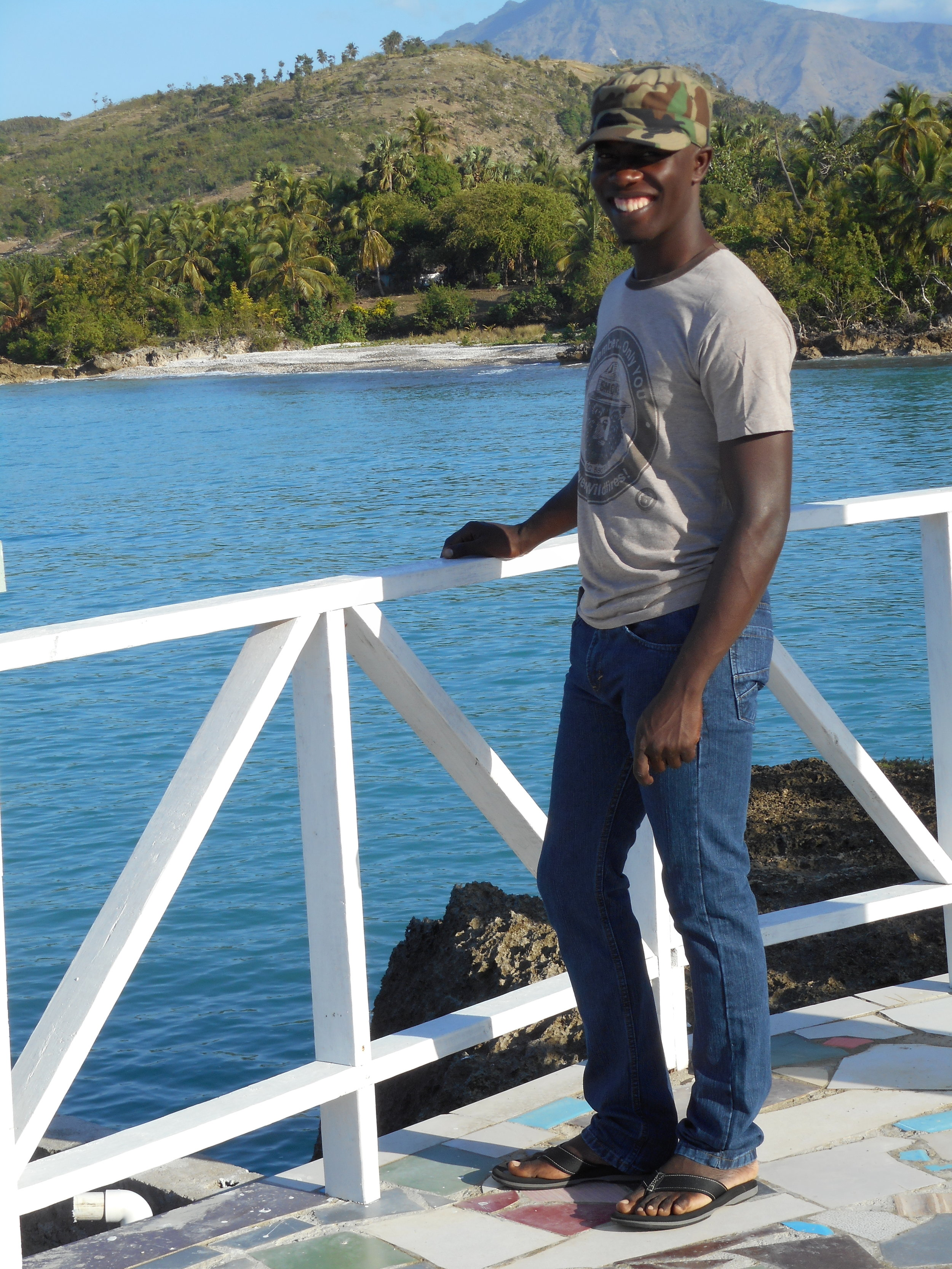 CoFounder/Director Cherly Dorvilier - Born and raised in Duchity, Cherly has always dreamed of being able to return from school in Port-Au-Prince and start a program to help the youth in his own community have a better life.