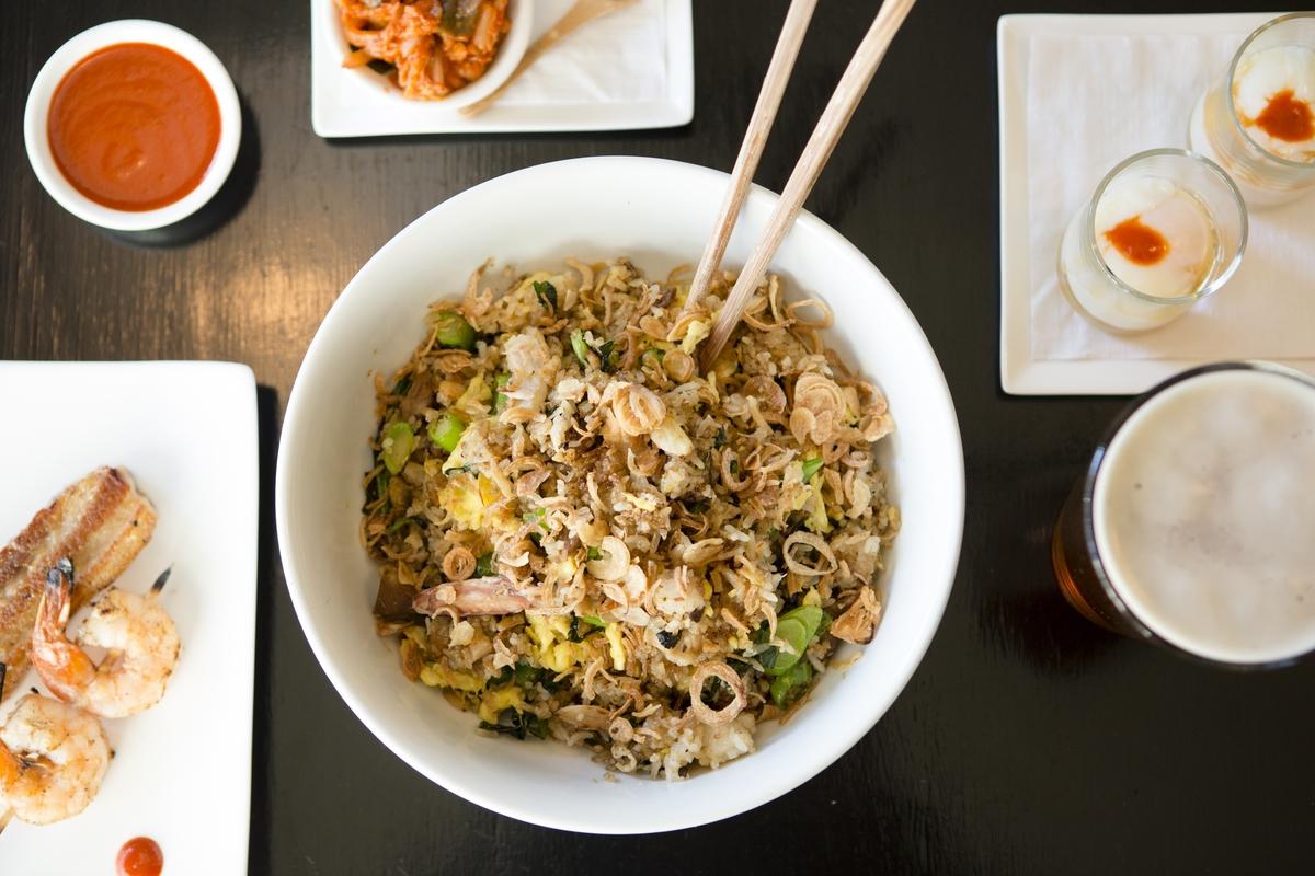 Fried Rice w/Crab & Pork Belly
