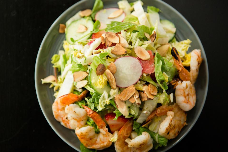 Summer Salad w/Prawn