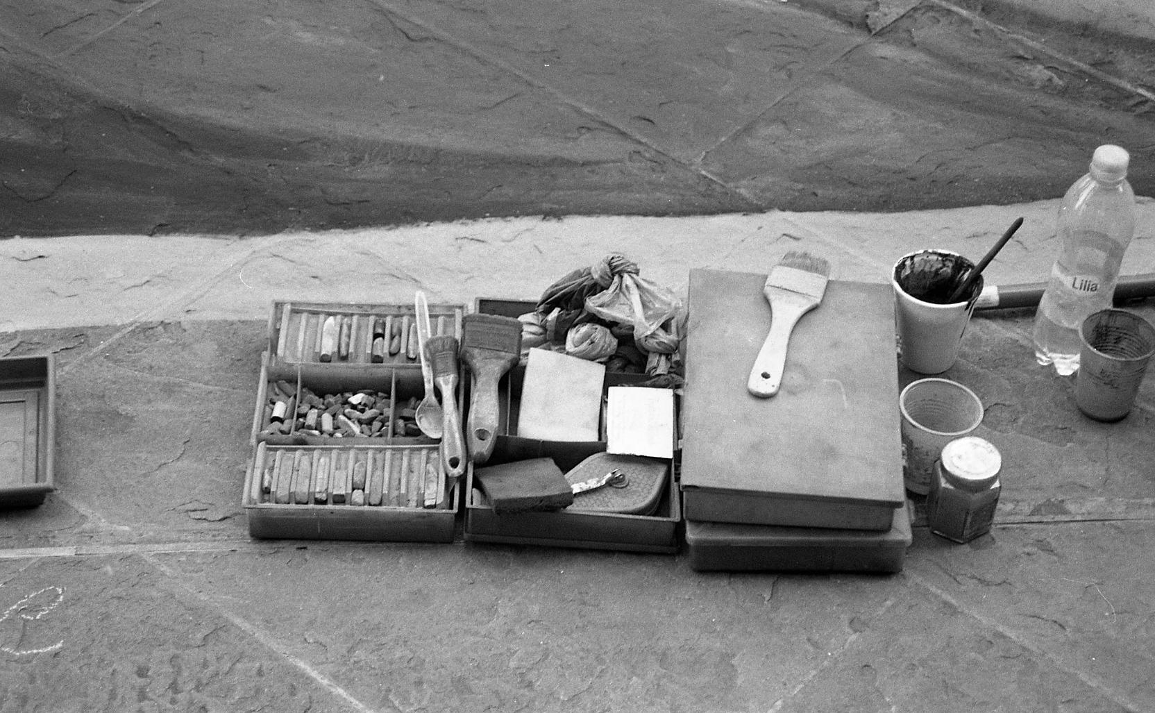 supplies. 35mm film.