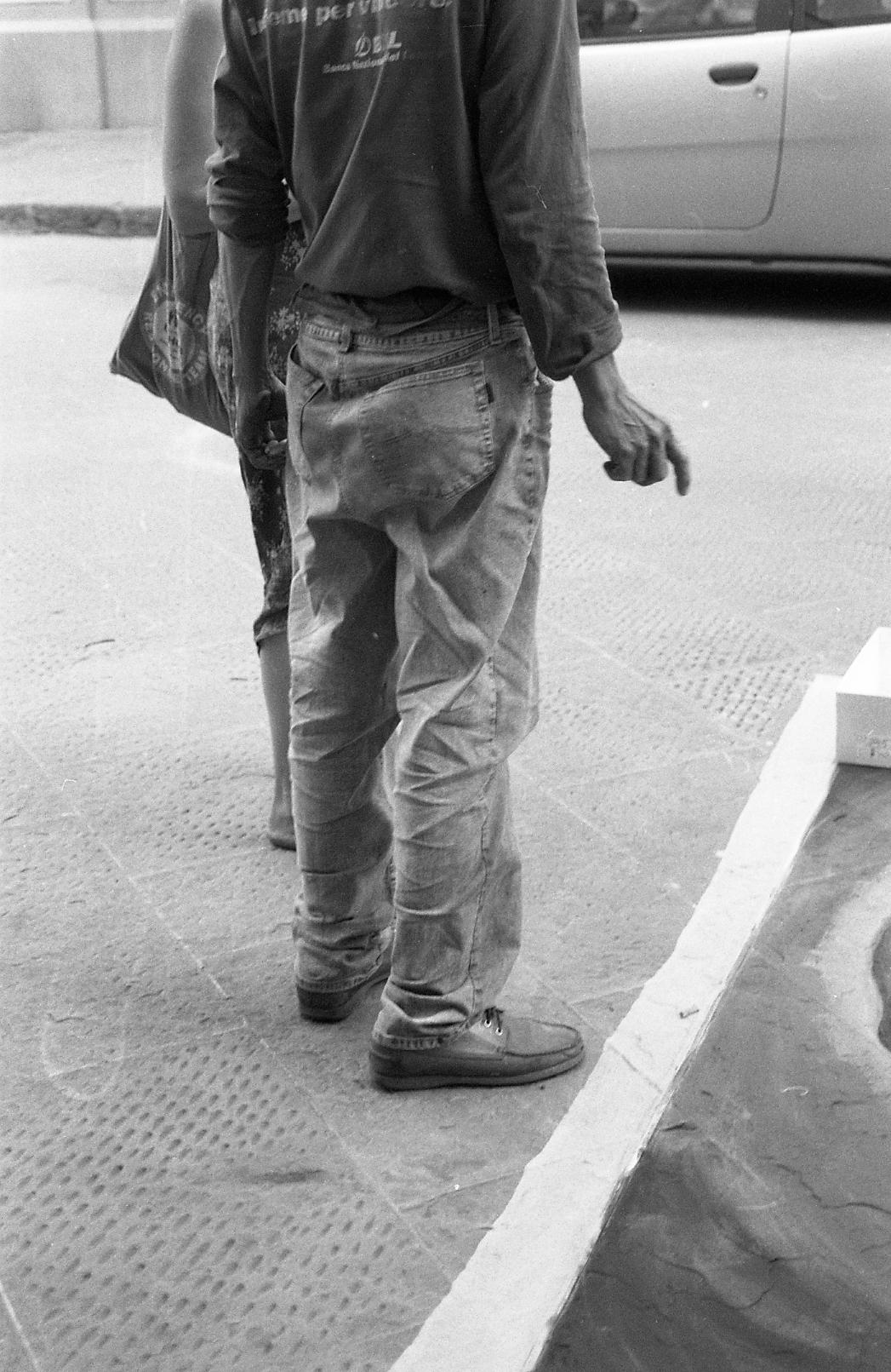 street painter. 35mm film.