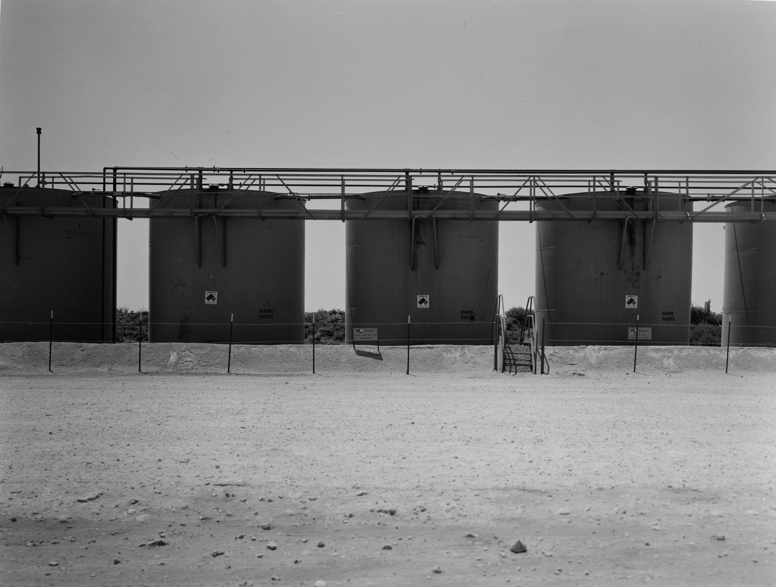 4x5 film taken in the oil fields of West Texas.