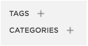 Squarespace Tags and Categories Image