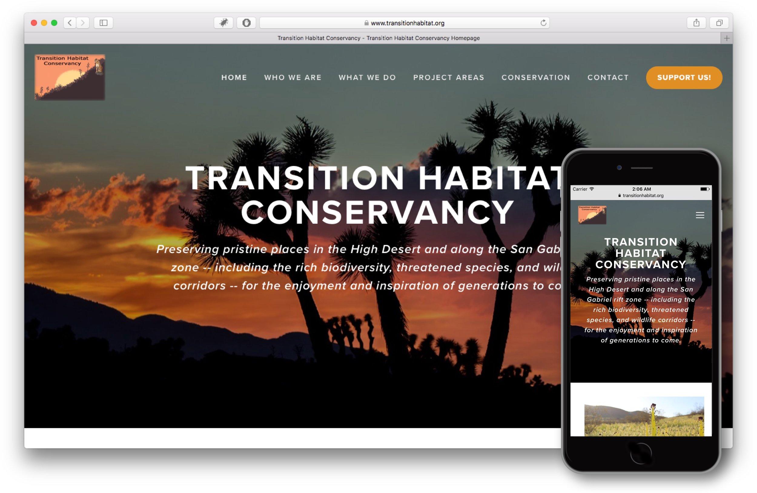 THC Website after Big Shifter Partnership