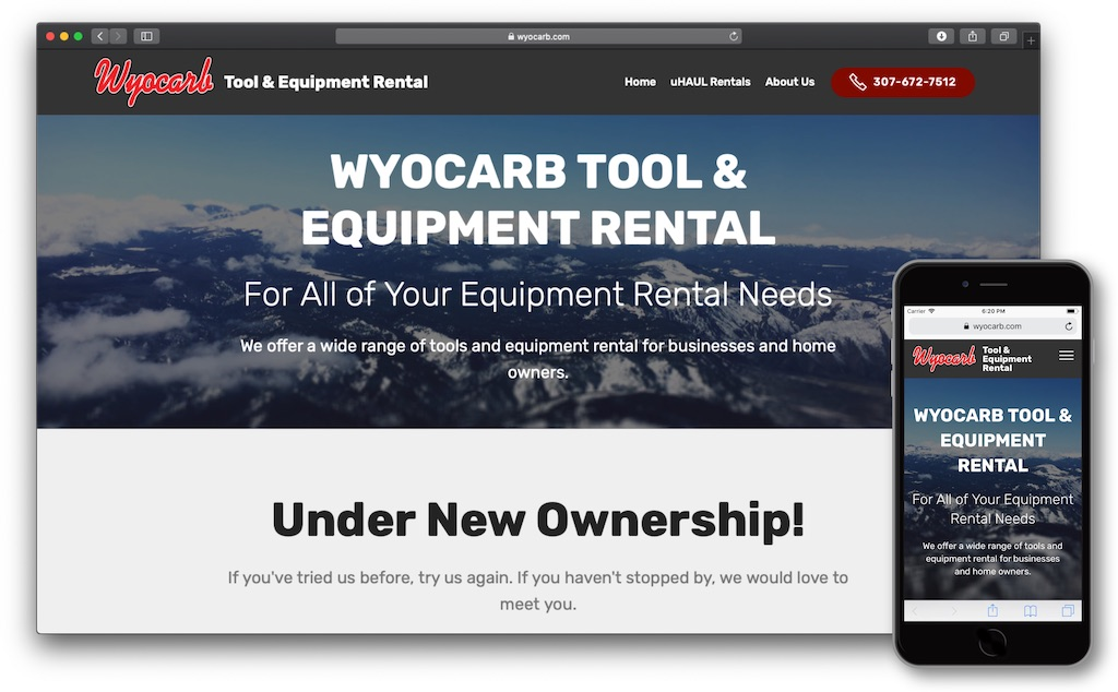 wyocarb.com after the Project