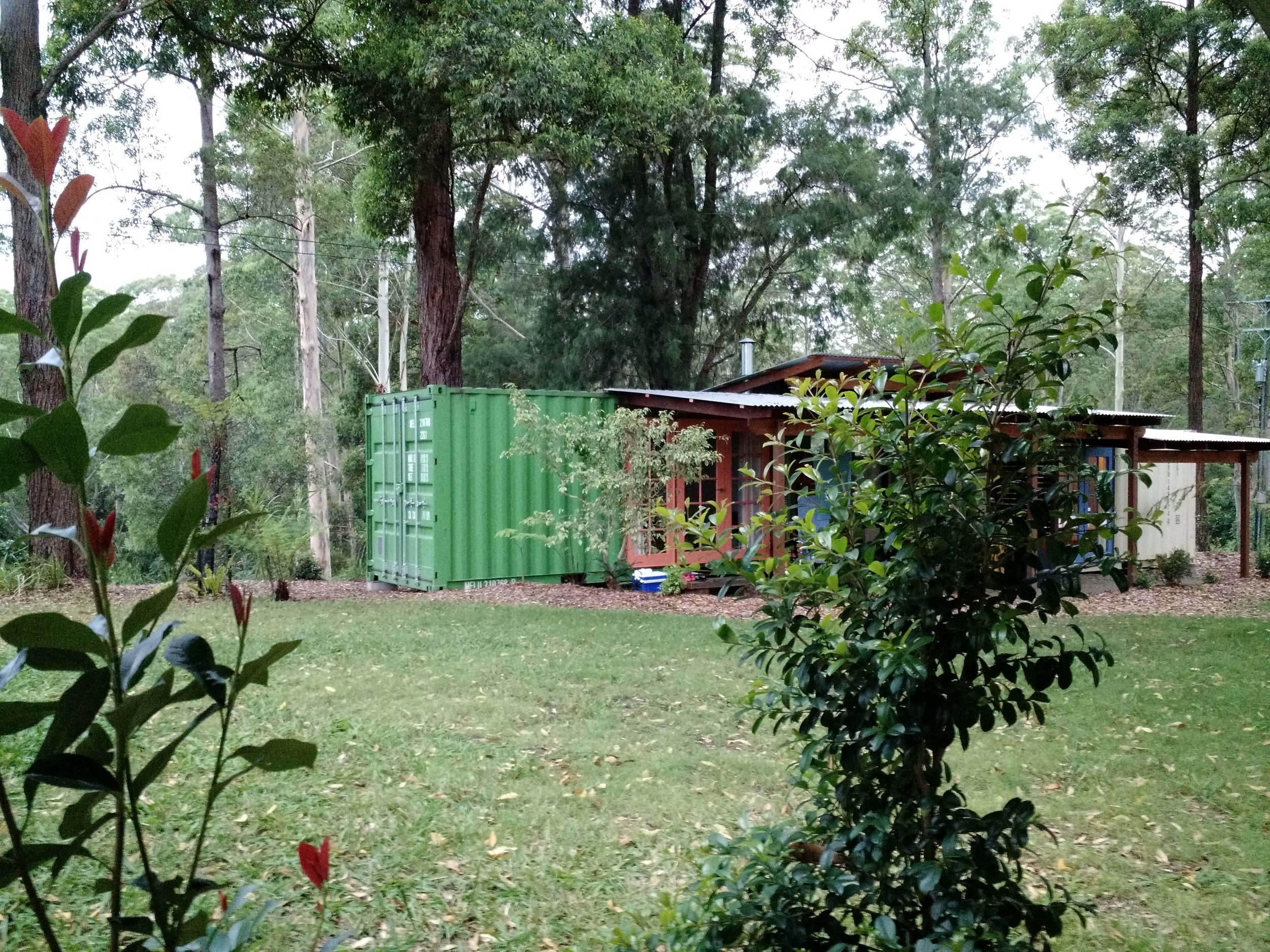 Shipping container heaven in Belligen
