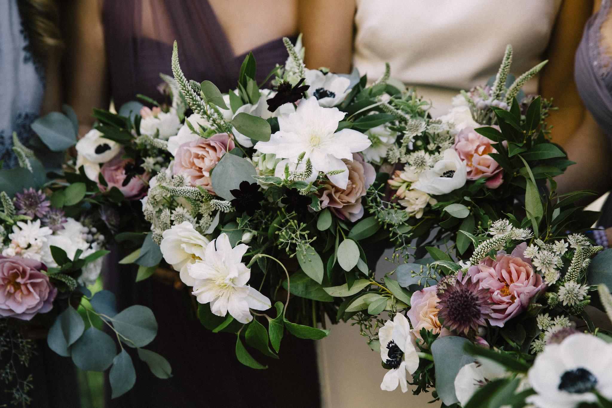 Venn Floral Bridal Bouquet Details | Photo by Lucille Lawrence