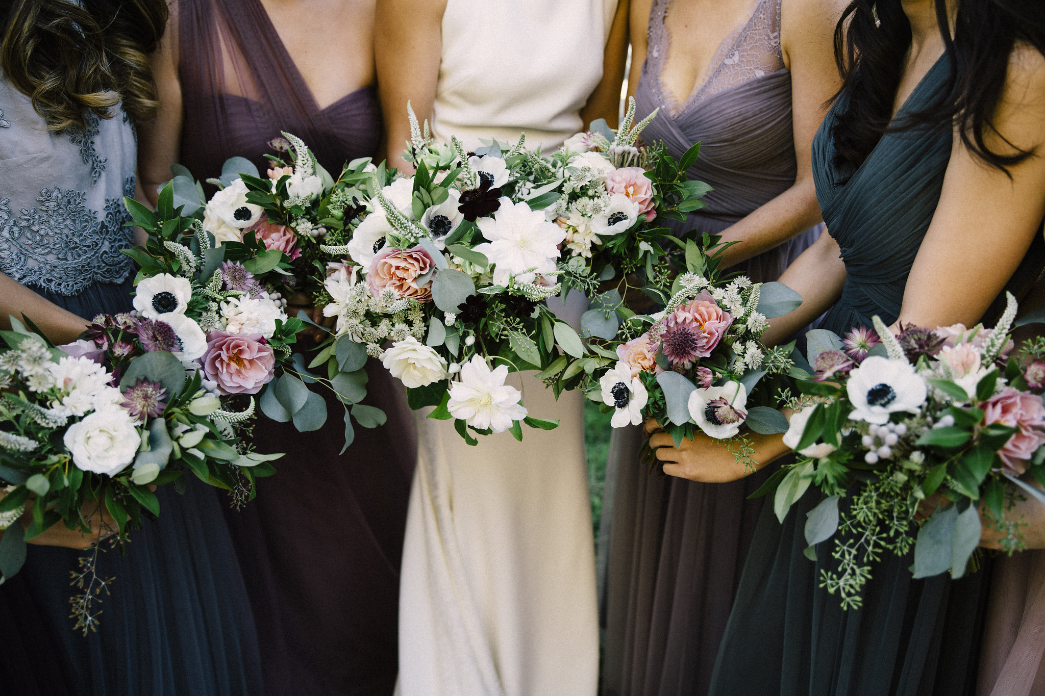 Bridal Bouquets by Venn Floral | Photo by Lucille Lawrence