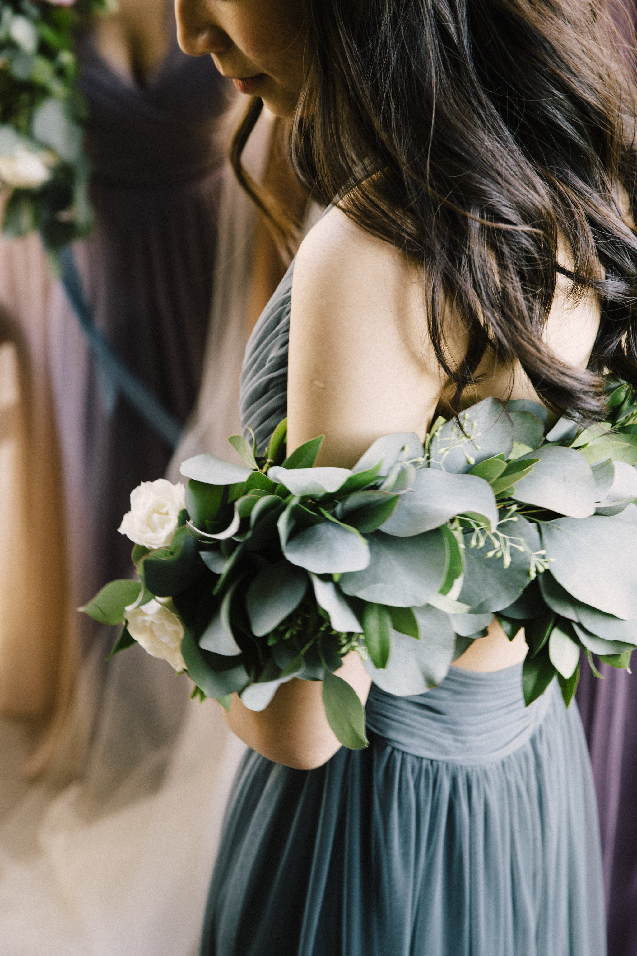 Greenery Shawl by Venn Floral | Photo by Lucille Lawrence