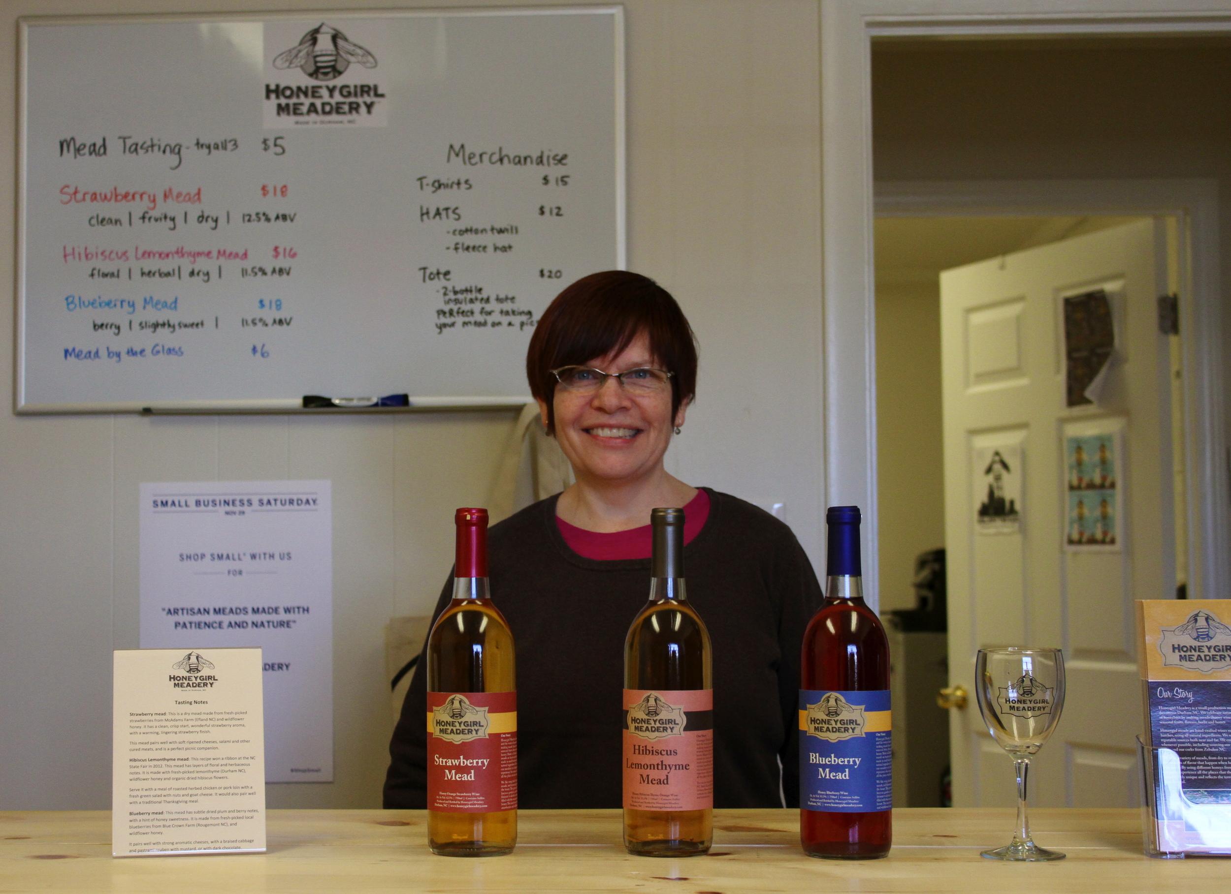 Diane Currier of Honeygirl Meadery