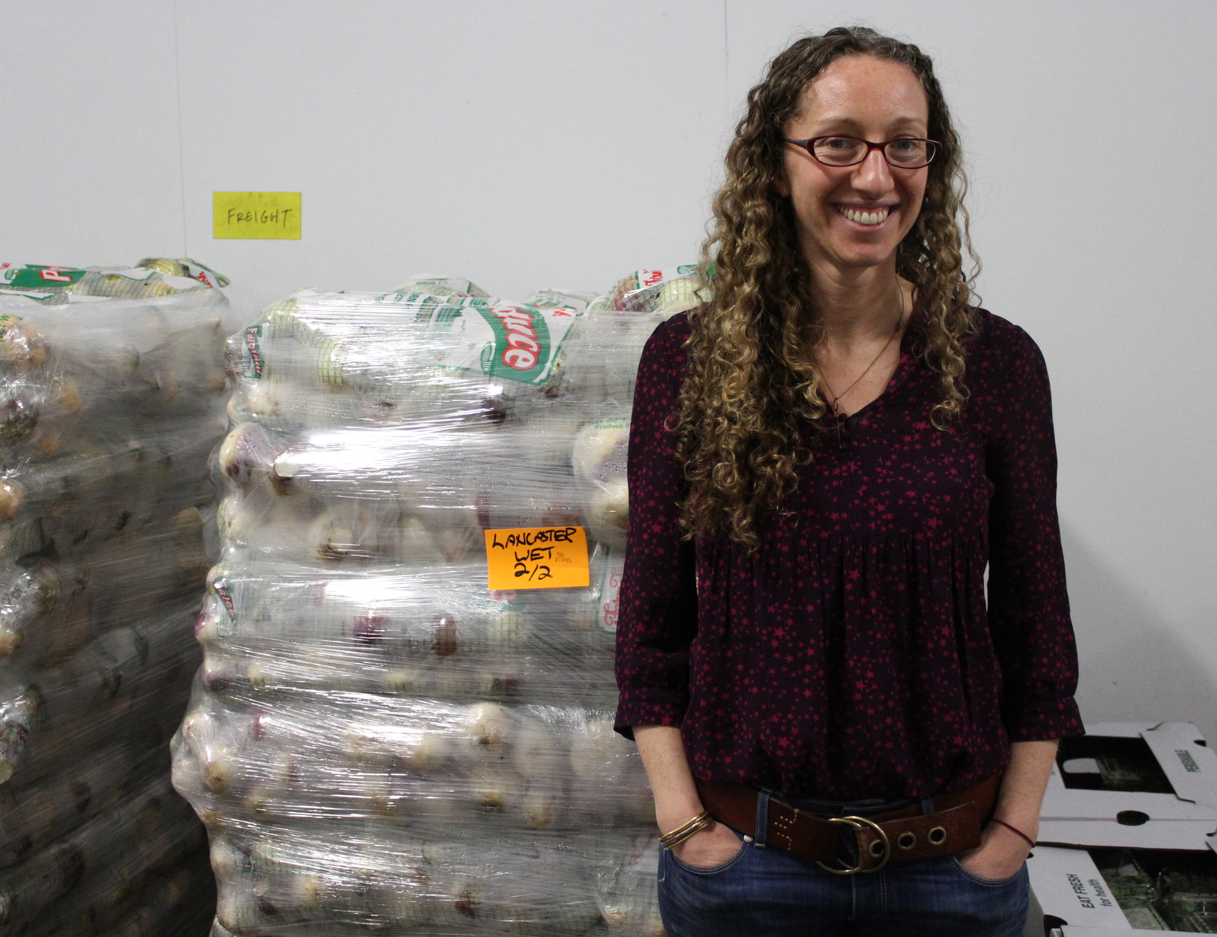 Sandi Kronick of Eastern Carolina Organics