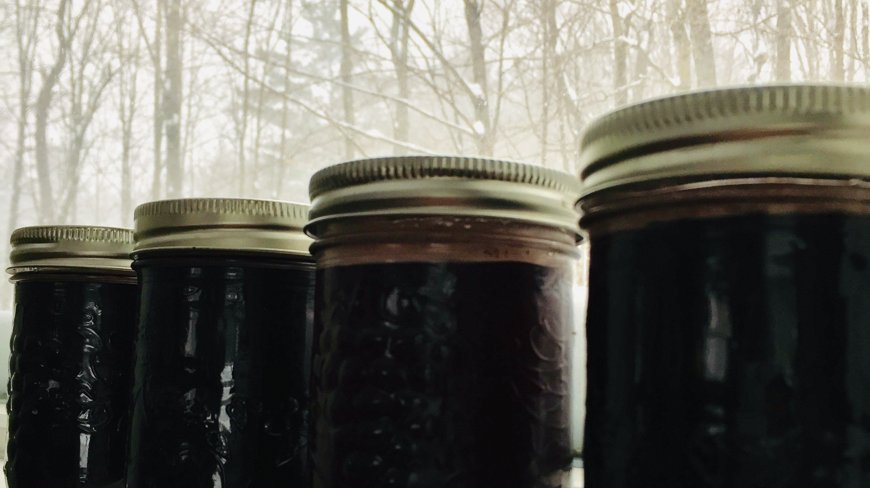 Elderberry Syrup - Because Elderberry season has arrived, even if winter hasn't yet.