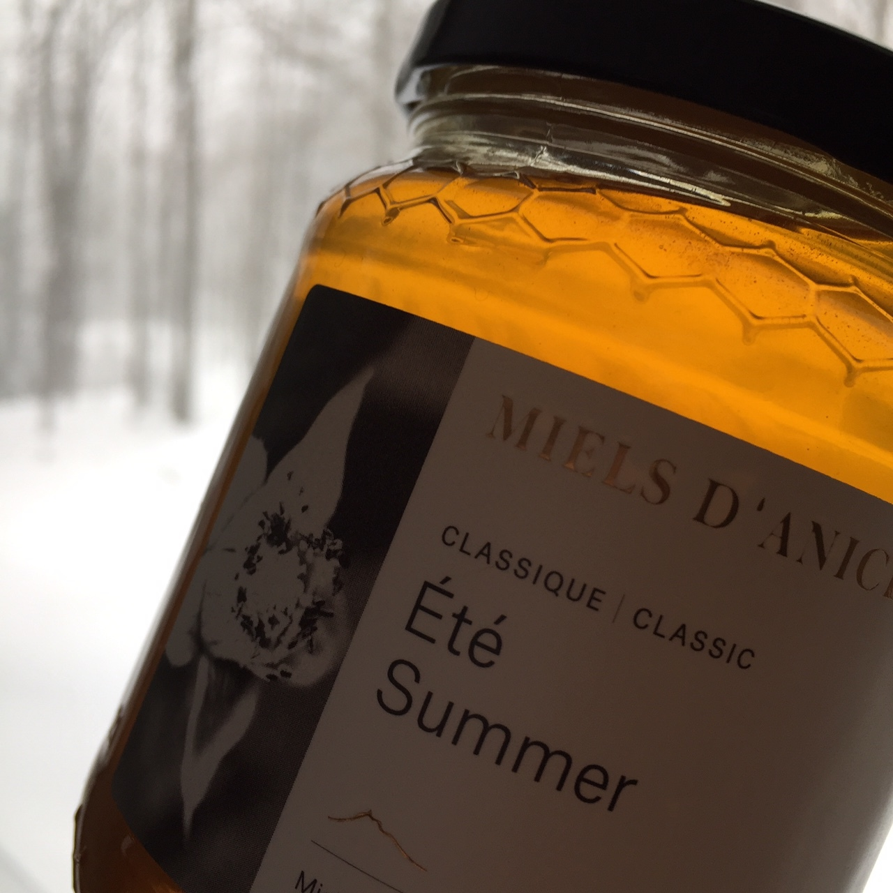 Honey sweet Honey - The honey we choose is Miels D'anicet. It is Certified Organic, made in beautiful Quebec and is one of the best honey companies worldwide. Don't skimp, buy real honey and support your provincial bees.