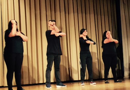 Poetry in Motion at Hubbard High School