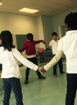 Cultural Dance at New Field Elementary