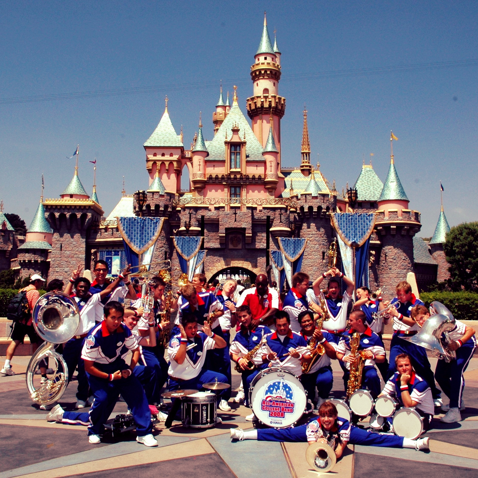 disneyland 2008 all-american college band