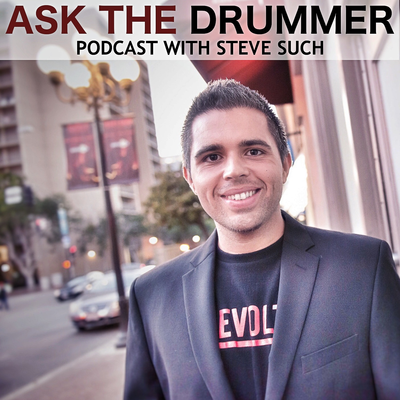 ask the drummer create new sounds