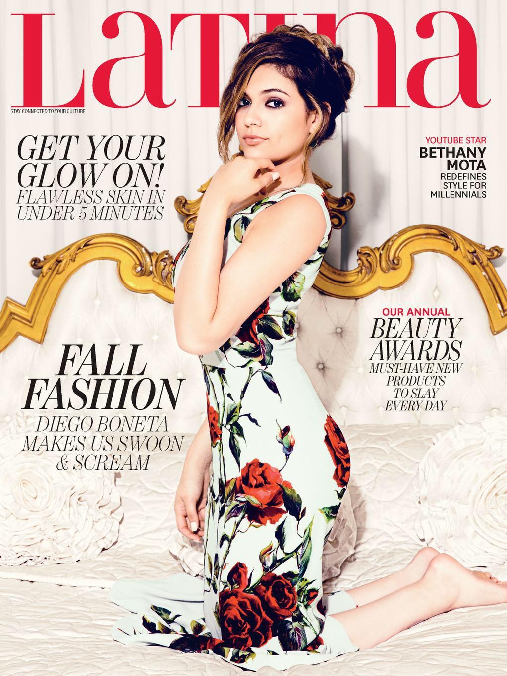 Latina Magazine - Bethany Mota
