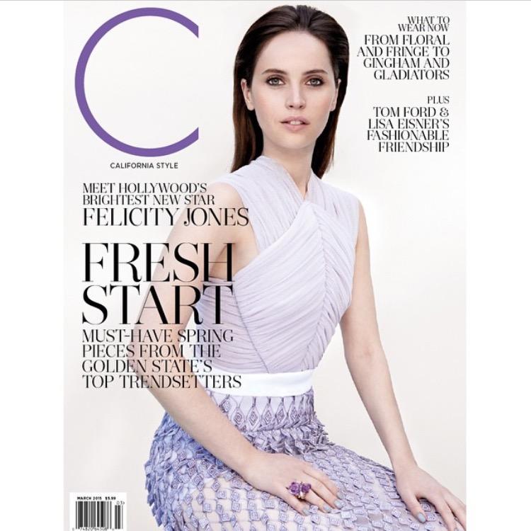C Magazine - Felicity Jones