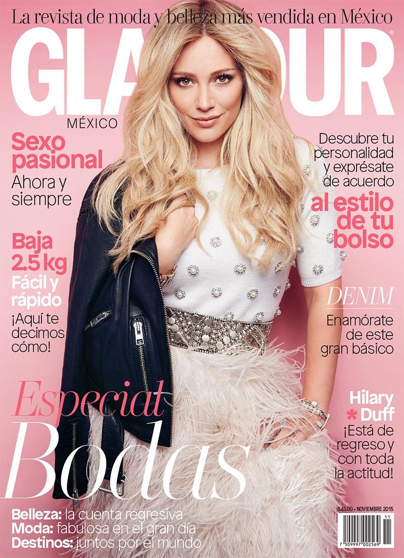Glamour Magazine - Hilary Duff