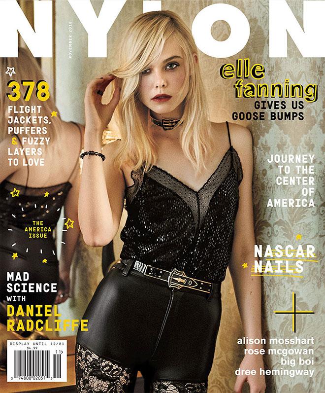 Nylon Magazine - Elle Fanning