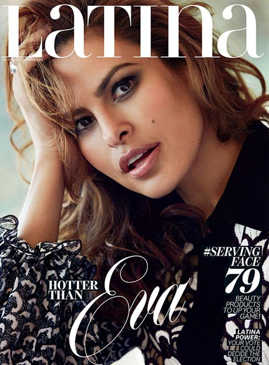 Latina Magazine - Eva Mendes