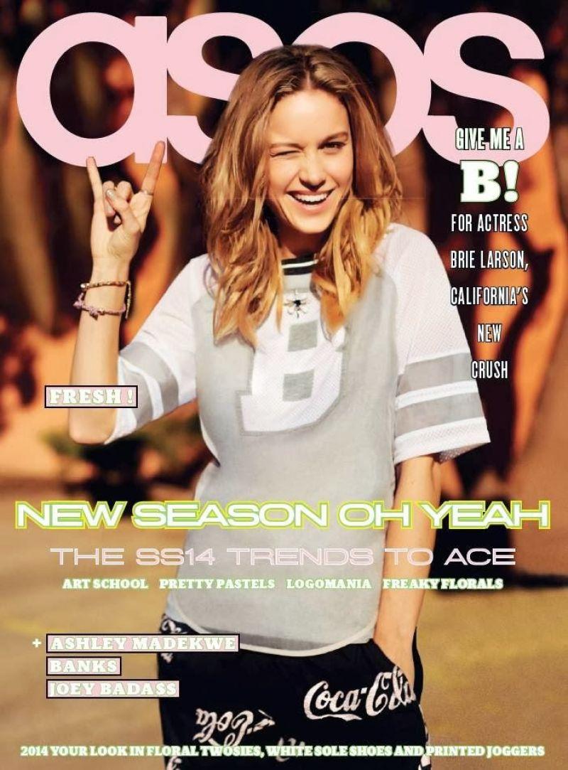 ASOS Magazine - Brie Larson