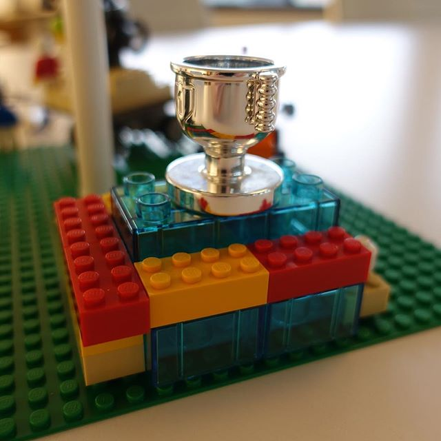 """Pool of tears. We're all around the pool because we are always chasing awards. Always wanting to be the best."" Real conversations with #LegoSeriousPlay  #creativity #innovation #LEGO #metaphor #workshop #facilitation #meetings #story #hand #play #storytelling"