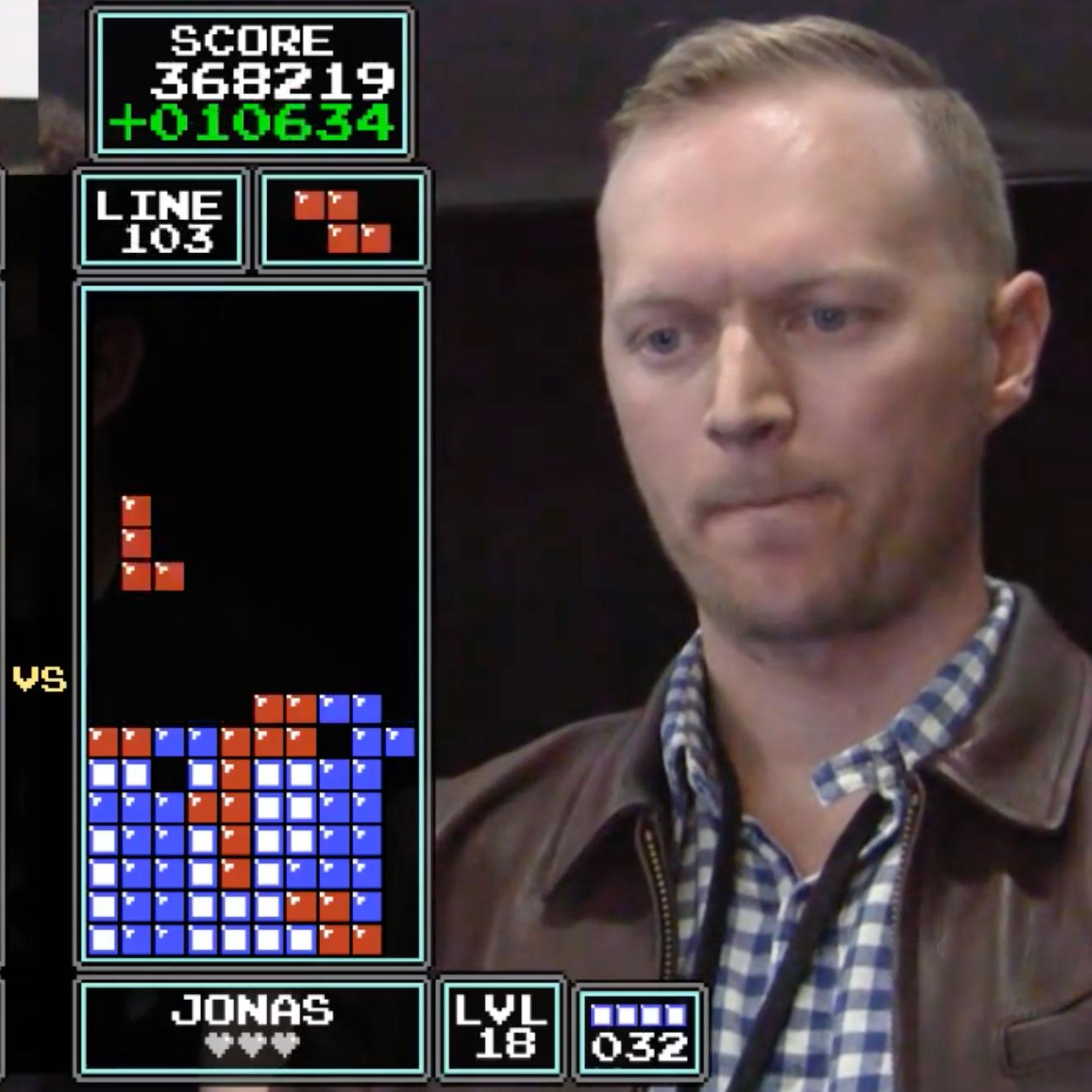 """BOOM! Tetris for Jonas!"""