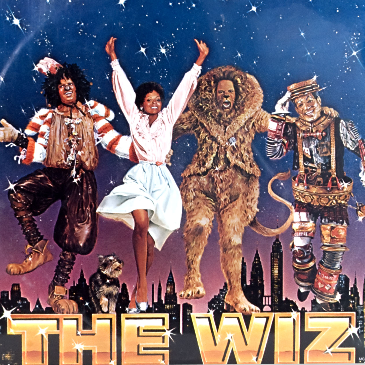 If you haven't seen the Wiz, stop what you're doing and correct this flaw in your life.