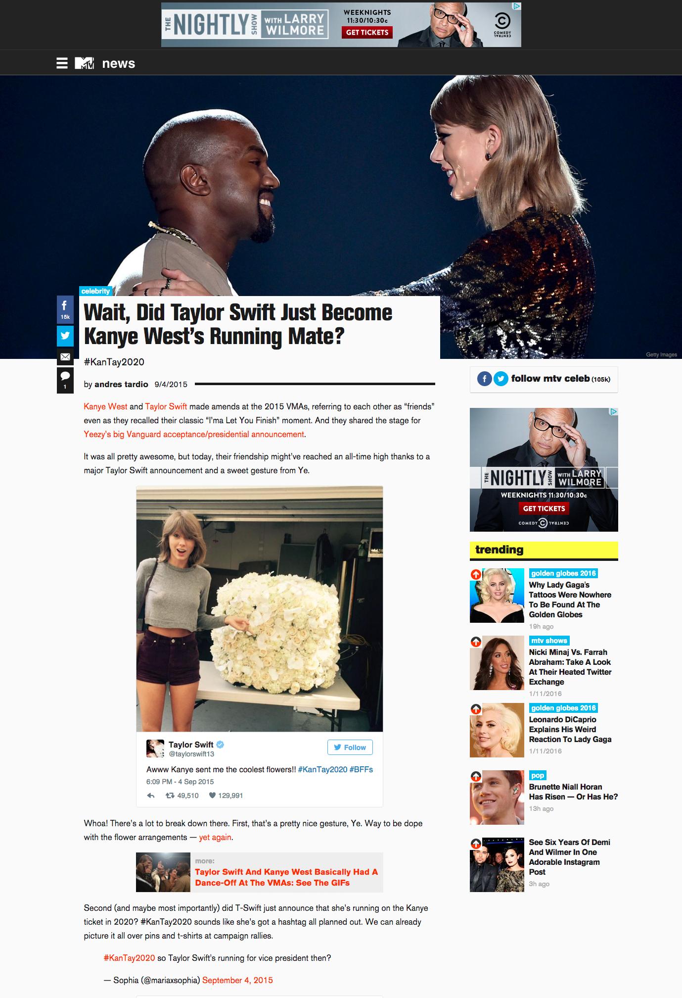 Post Page (desktop)