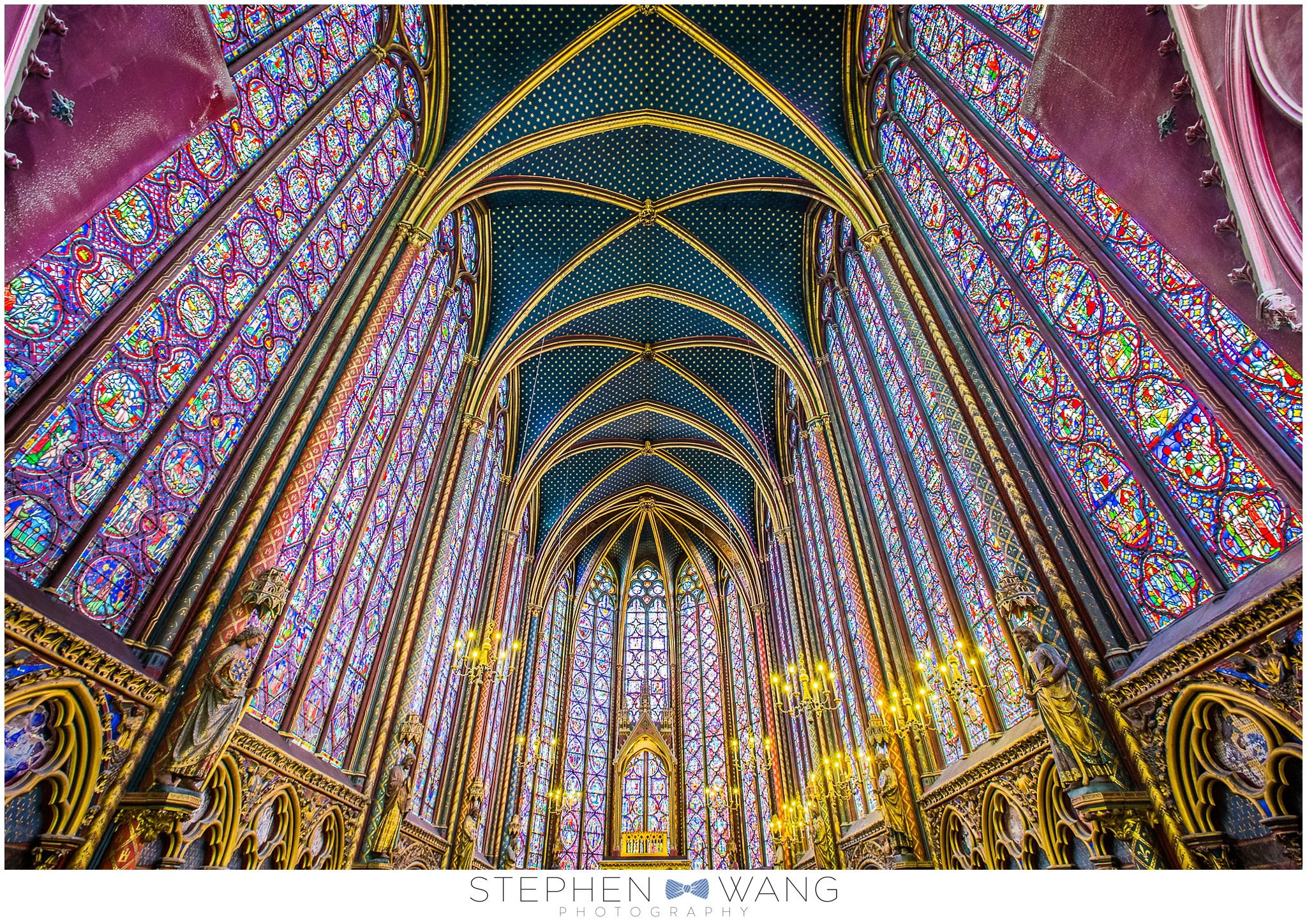 Sainte Chappelle was absolutely stunning.  I've never seen anything with such ornate detail.  It was built to house King Louis IX's collection of relics of Christ, including his crown of thorns.  The chapel is 750+ years old, which is crazy to think about.