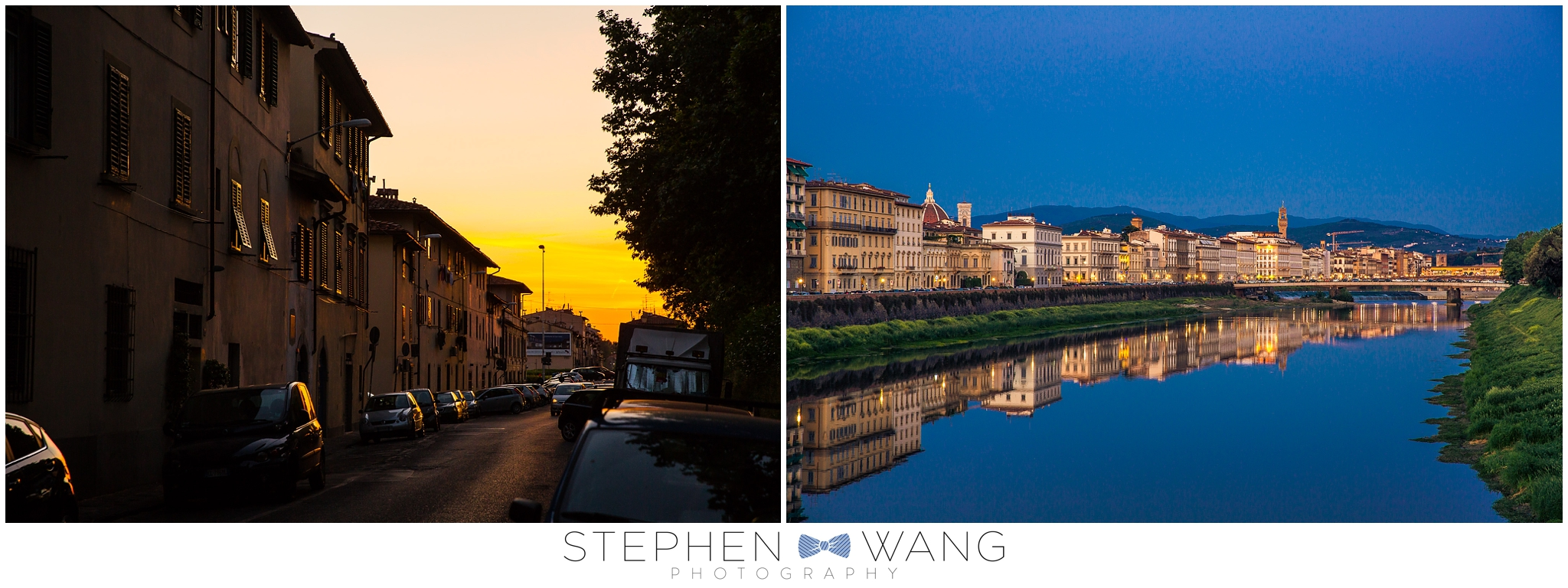 I took a little stroll around the neighborhood our first night in Florence.  I loved the warm sun low in the sky hitting the buildings, and the view of the city from a bridge over the river Arno.
