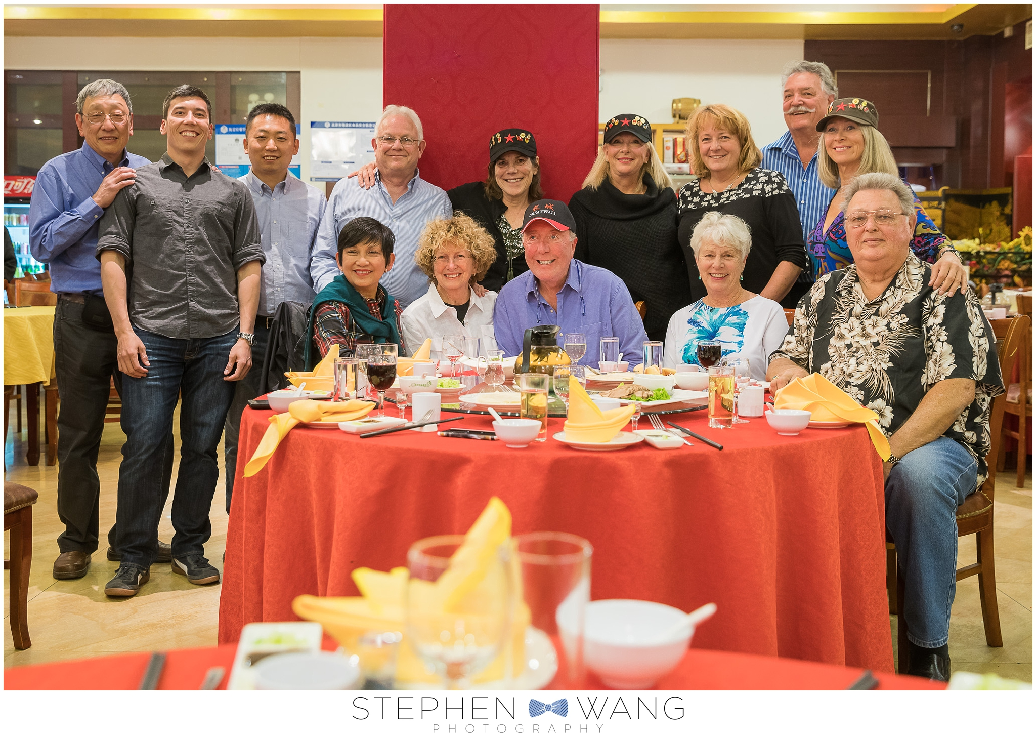 A group photo of our travel mates during our last night in China.  Our guide Jason did a fantastic job showing us around, organizing our accommodations, and sharing his vast knowledge of his country with us.  A great group all around!