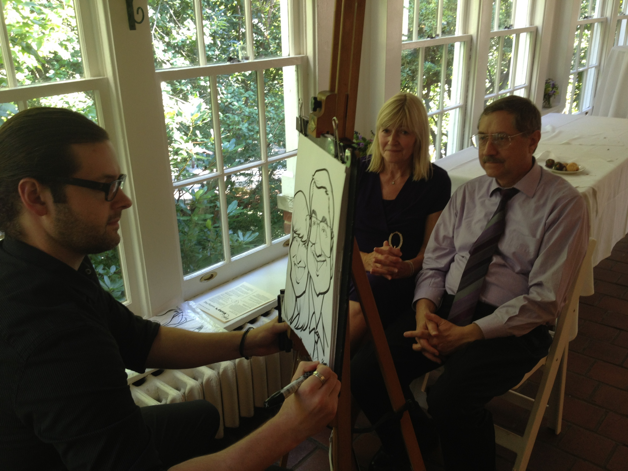 Live Traditional Caricatures