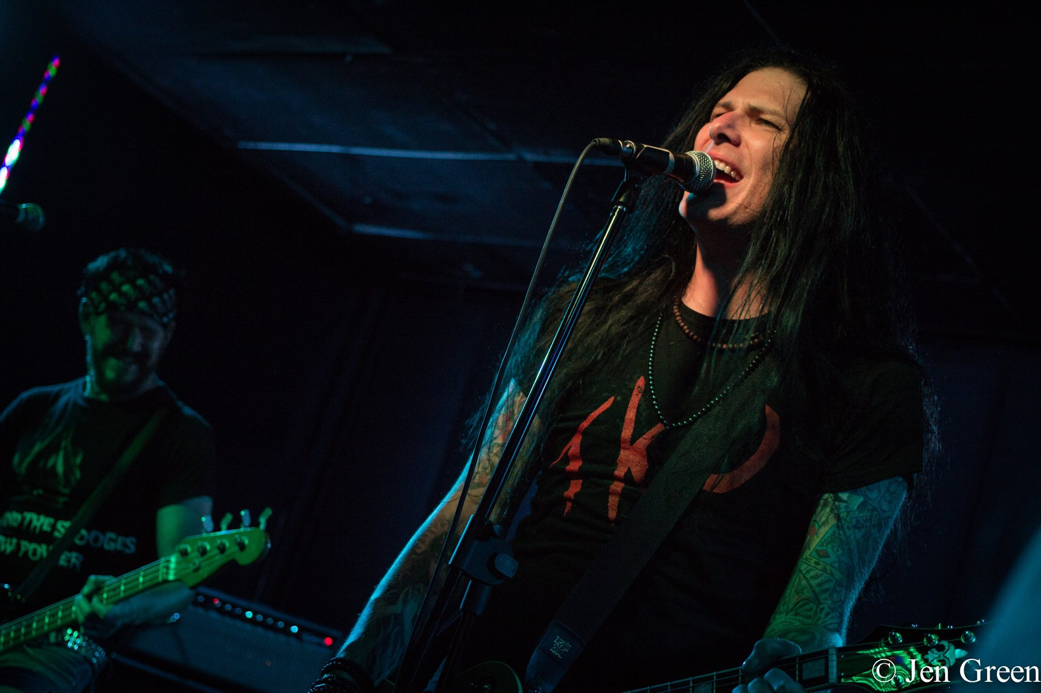 Todd Kerns performing in Alberta, Canada