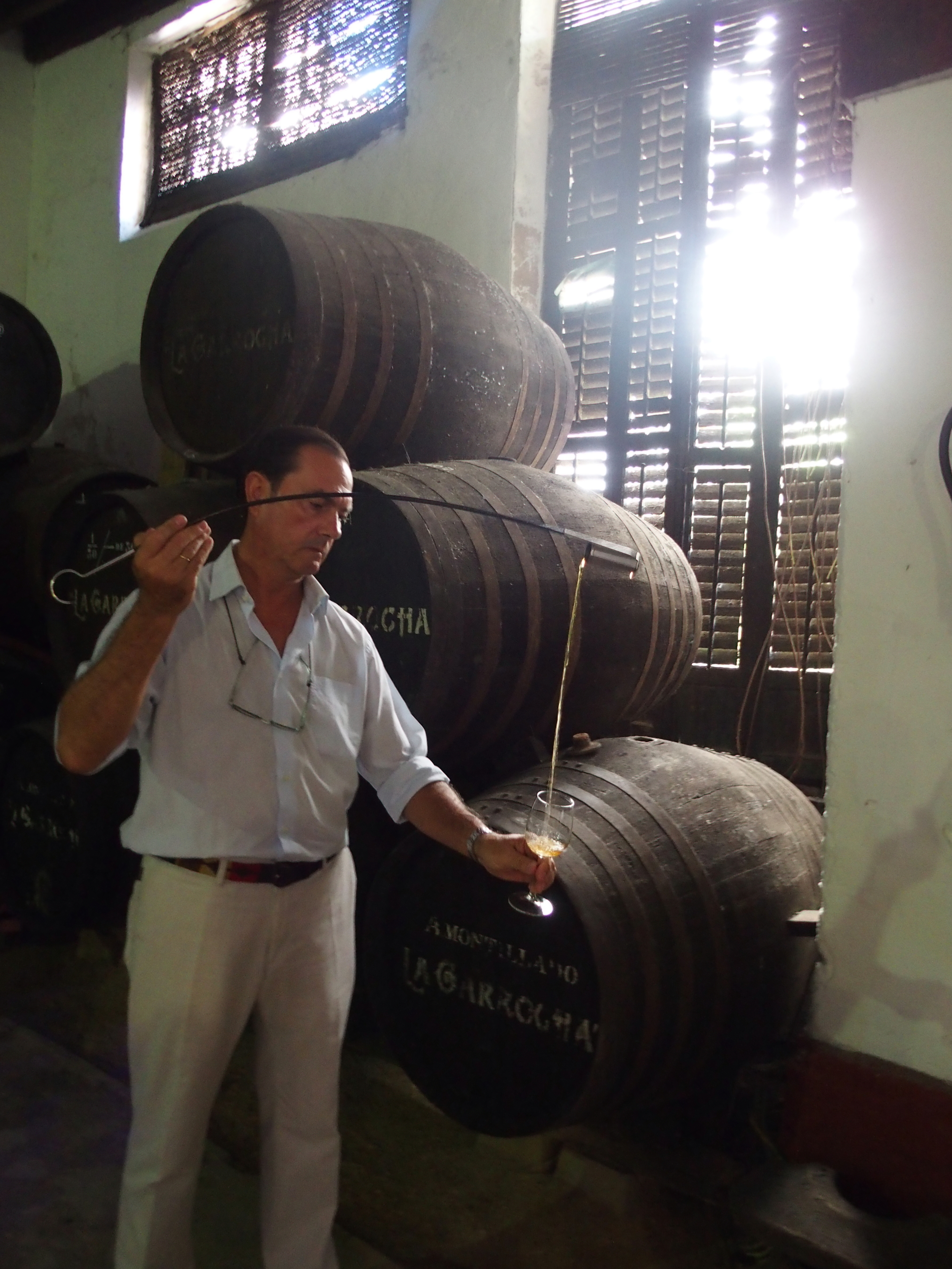 Edmundo Grant with Venencia.JPG