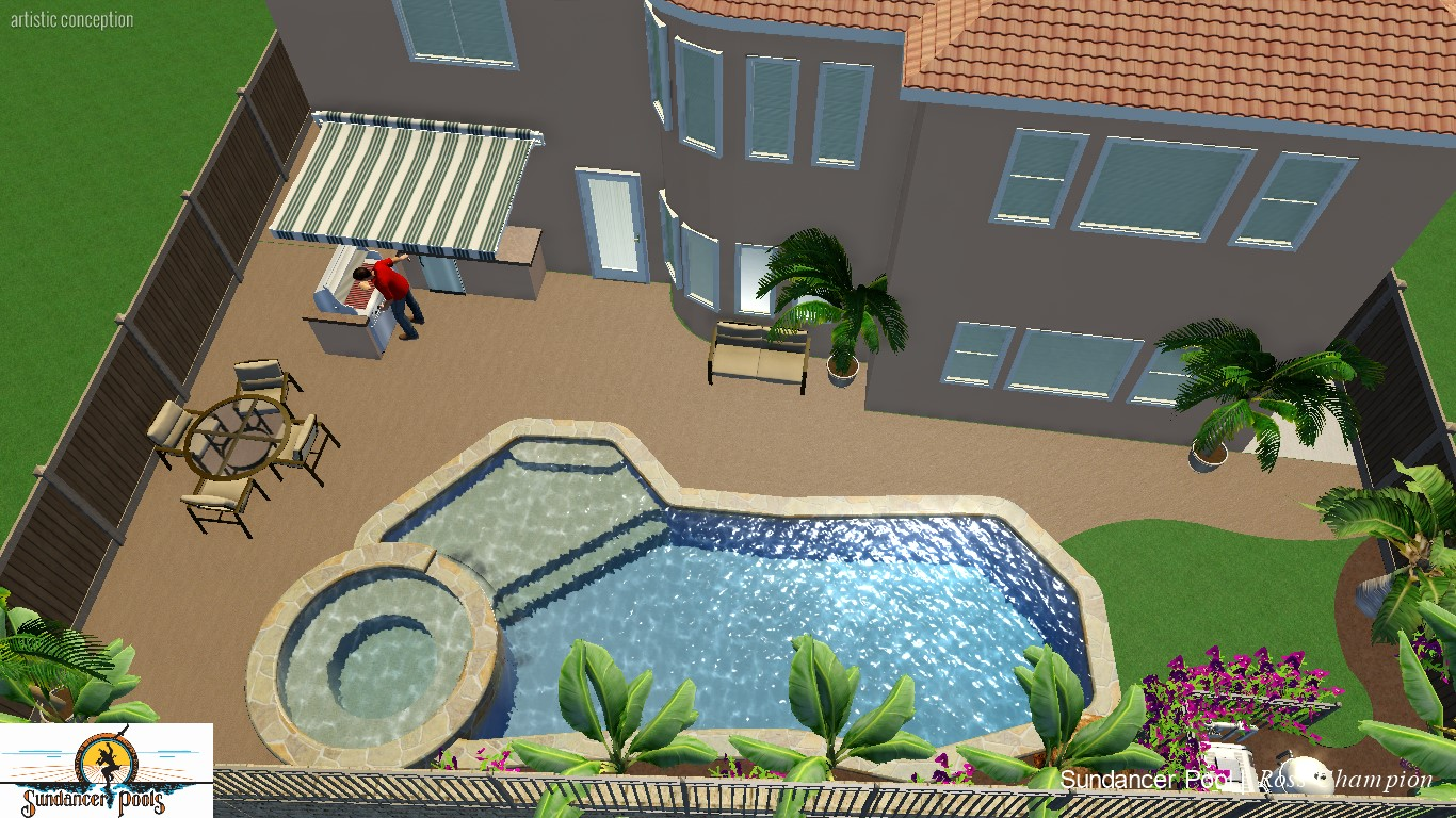 Large Pool Outdoor Kitchen and Eating_007.jpg